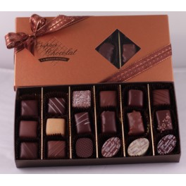 Boite chocolats assortis 150g