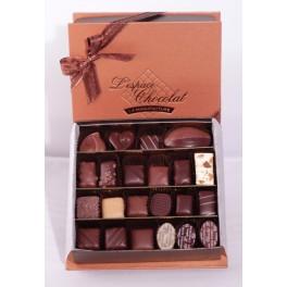 Boite chocolats assortis 195g