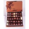 Boite chocolats assortis 285g